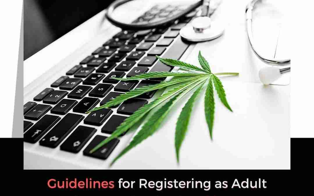 Guidelines for Registering as Adult Patient Application in Oklahoma